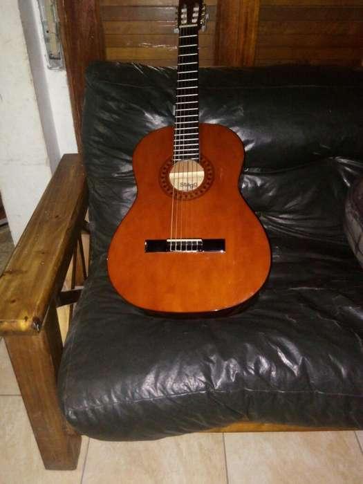 Vendo Guitarra con Funda,afinador Y Puas