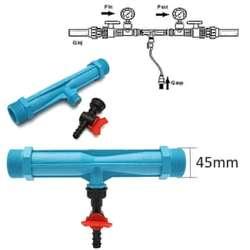 Tubo Venturi Inyector Fertilizante Agua Ozono 2 Pulgadas