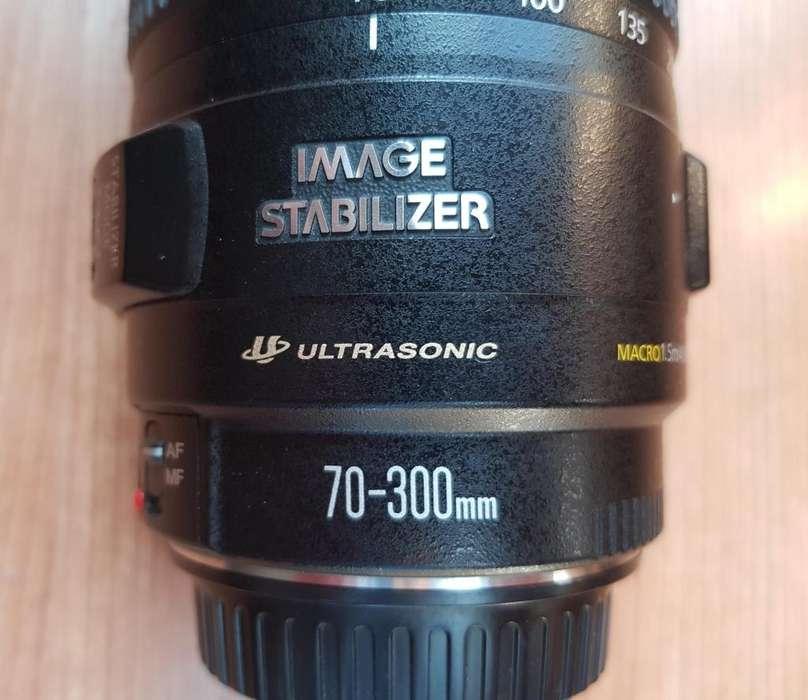 Vendo Lente Canon EF 70-300mm f/4-5.6 IS USM