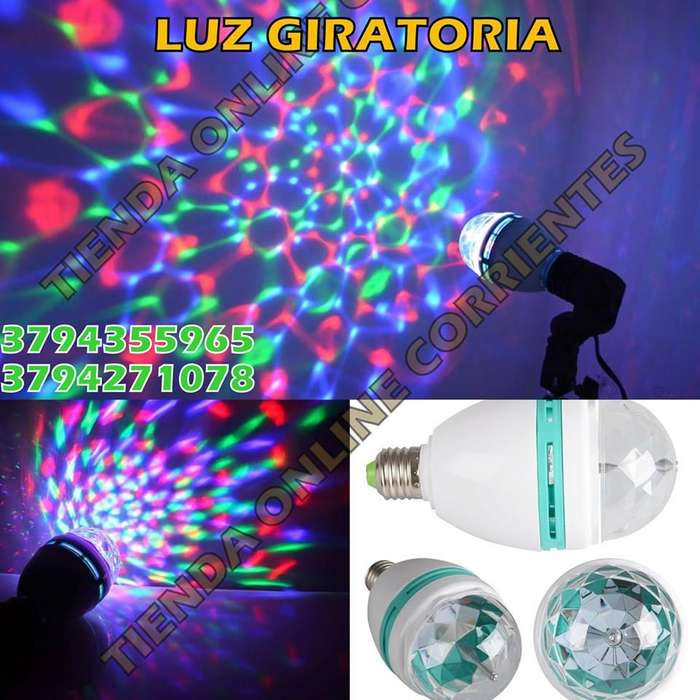 LUZ LED GIRATORIA A SOLO 250