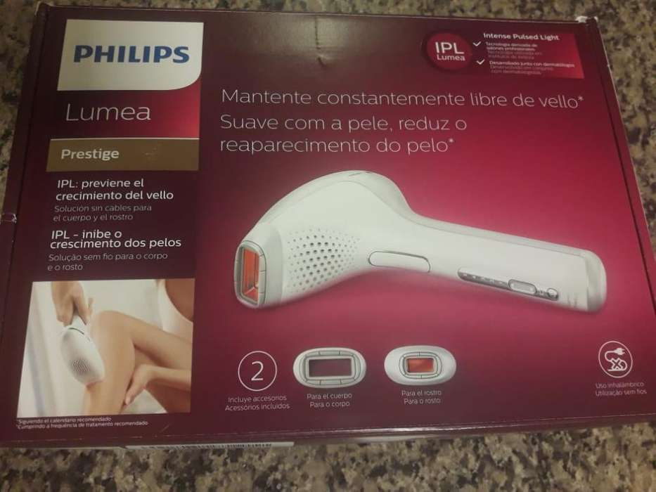 Depiladora Definitiva Philips Lumea Pres