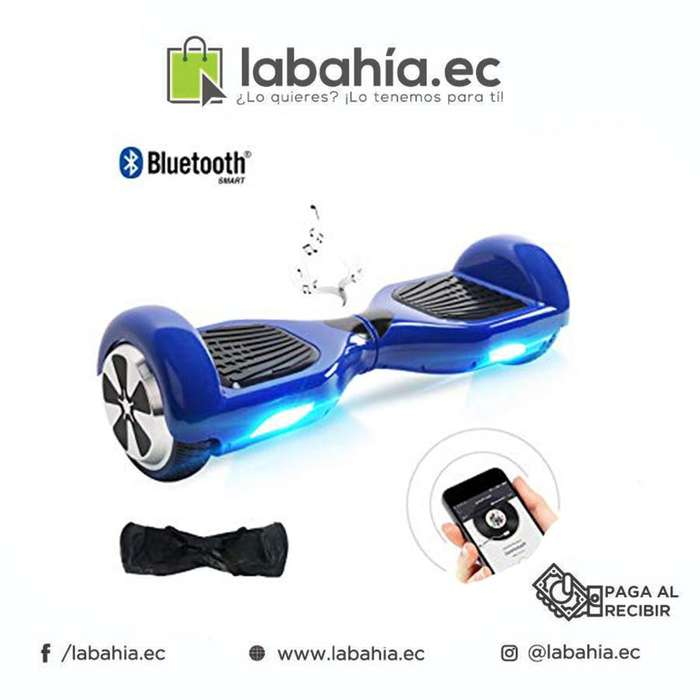 Patineta smart balance pequena bluetooth