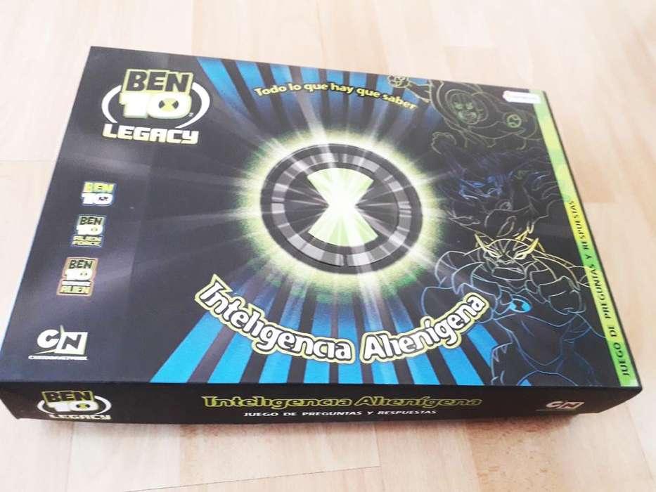 Juego De Mesa B10 Legacy Inteligancia Alienigen