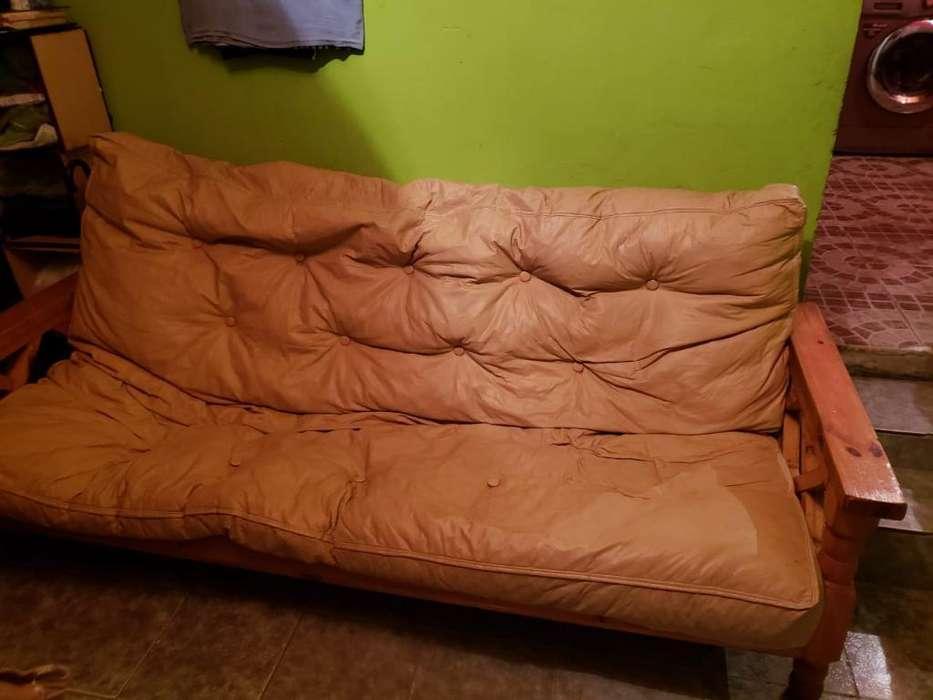 <strong>futon</strong> Meces de Uso Esta Impecable