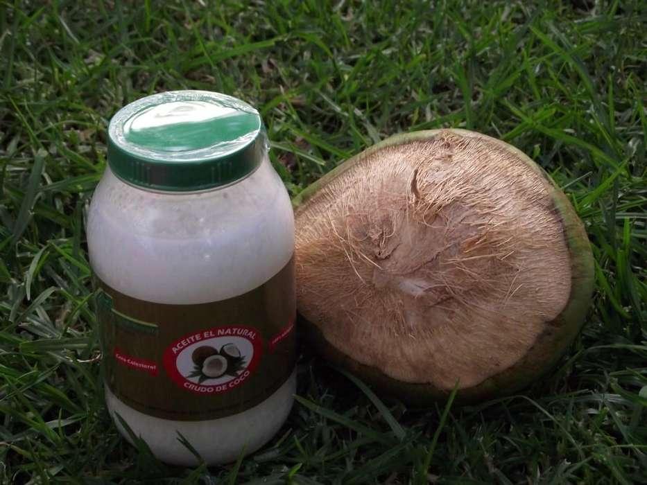 Aceite de Coco Puro Alta Calidad