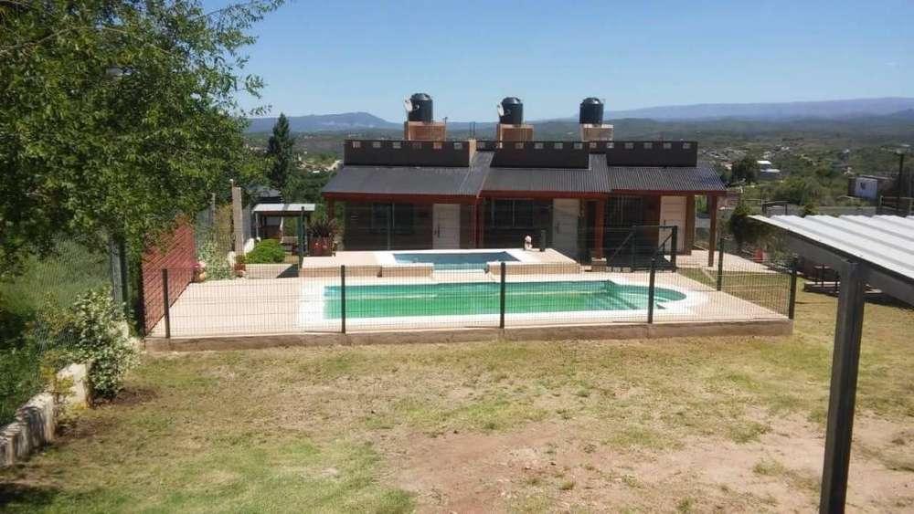 td75 - Cabaña para 2 a 4 personas con pileta y cochera en <strong>estancia</strong> Vieja