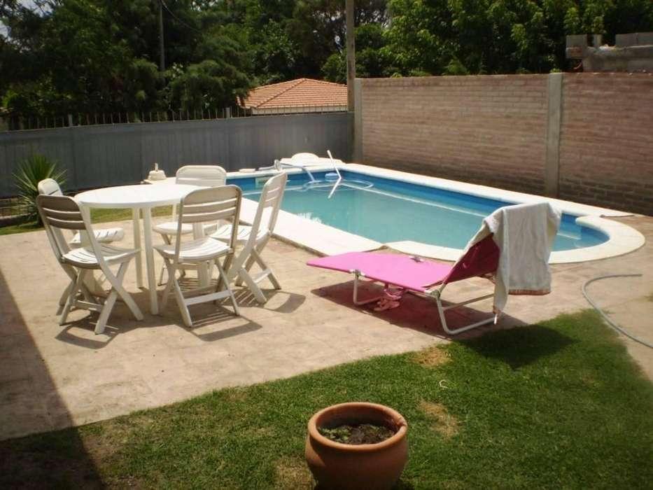 fw48 - Casa para 2 a 6 personas con pileta y cochera en Villa Carlos Paz