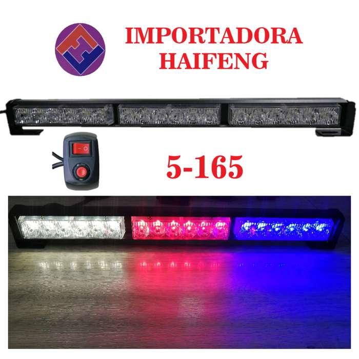 baliza policial 3 colores HAIFENG