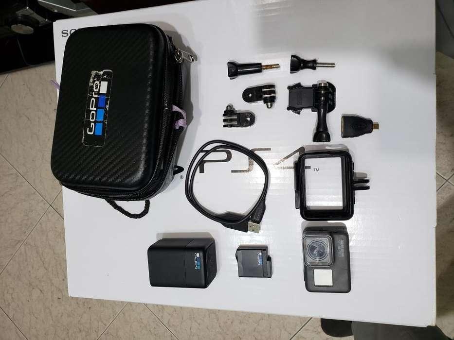 GoPro Hero 5 Black 2 baterias <strong>cargador</strong> de baterias cable de datos accesorios memoria 32GB