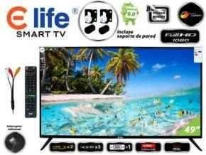 Smart TV 49 Pulgadas ELife