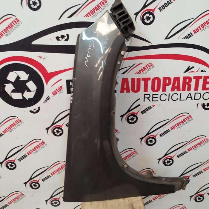 Guardabarro Delantero Derecho Volkswagen Tiguan 6270 Oblea:03274486