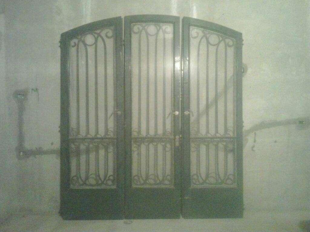 Portón Hierro Macizo