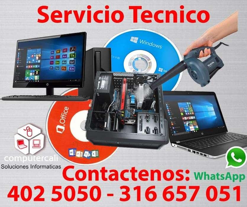 Reparación de computadores en cali Tel: 4025050 3166570051 Whatsapp