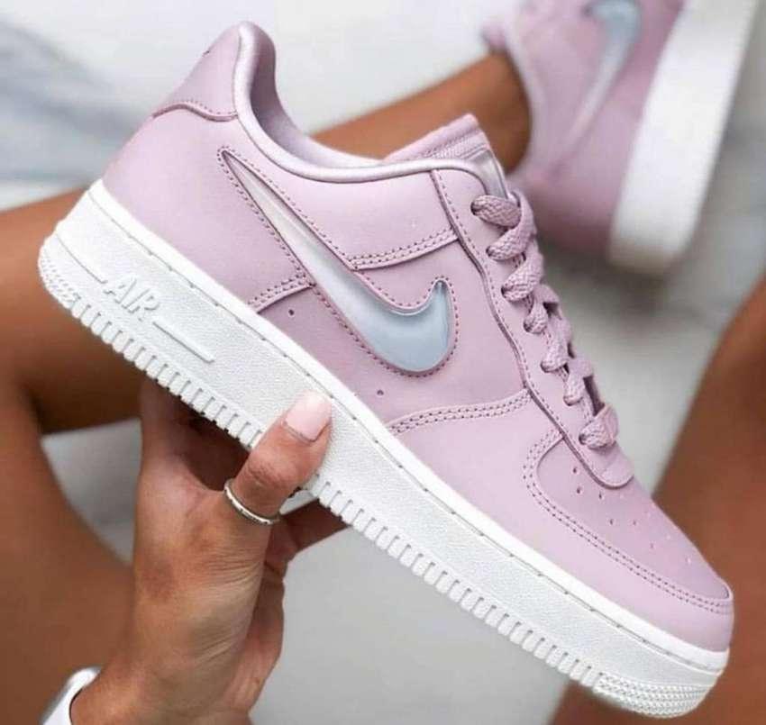 Tenis Nike Air Force One Palo Rosa para Mujer ContraEntrega ...