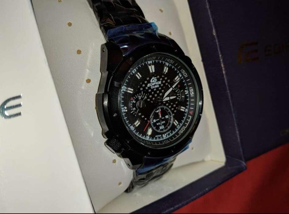 bb4306b41ee5 Reloj Nuevo Casio Edifice Ef-535bk-1av