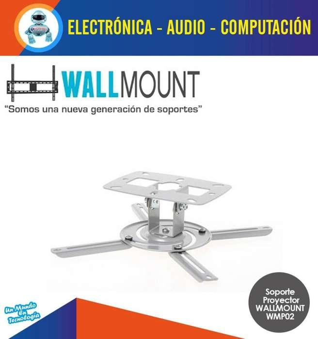 Soporte De Techo Pared Para Proyectores Pequeño Wallmount Wmp02