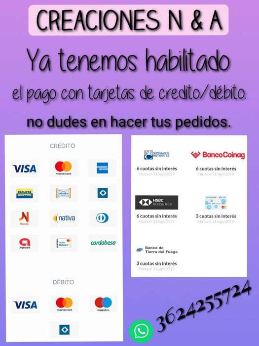@creaciones N & a Facebook