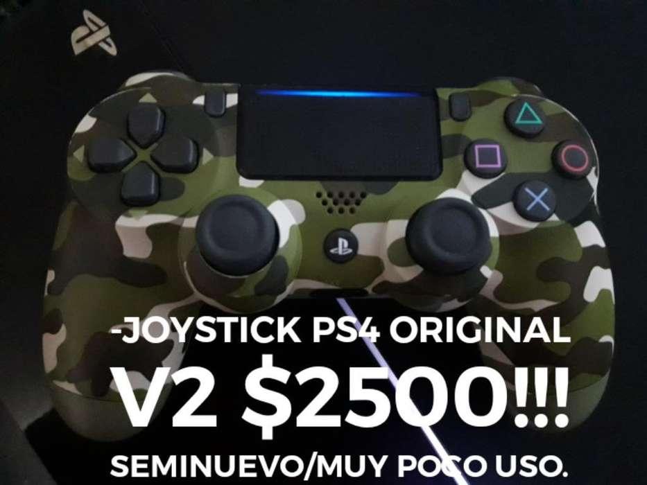 Joystick Ps4 V2 Original Camuflado