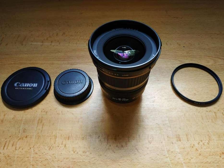 Lente Canon EF-S 10-22 mm f / 3.5-4.5 USM
