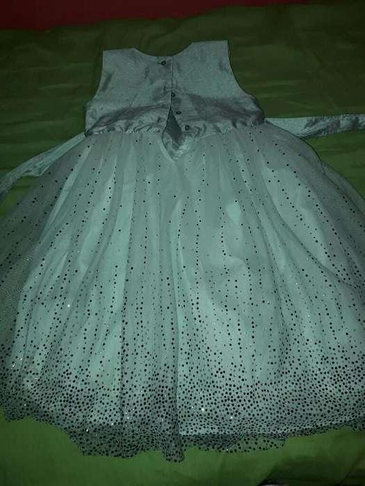 Vestido de Fiesta para Nena de 6 Años