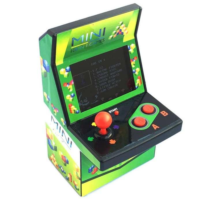 Mini Arcade Jugable Y Decorativo