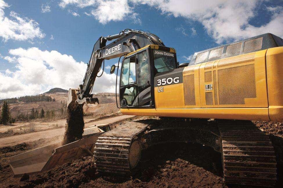 Excavadoras marca John Deere