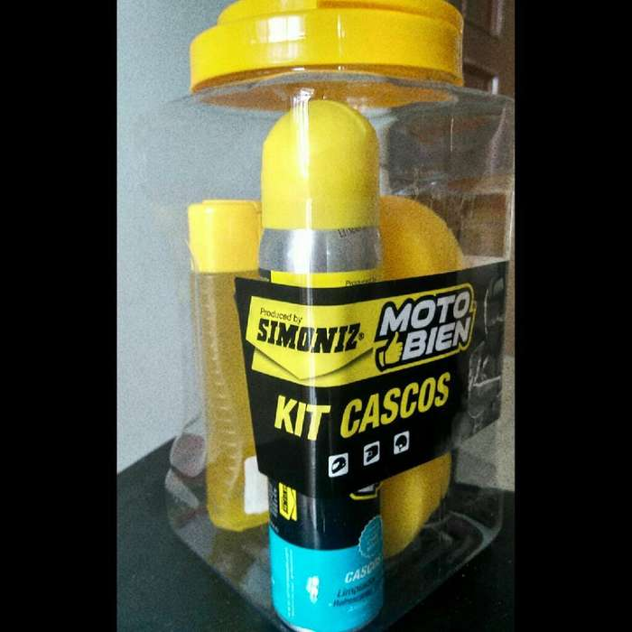 Kit de Cascos Motobien