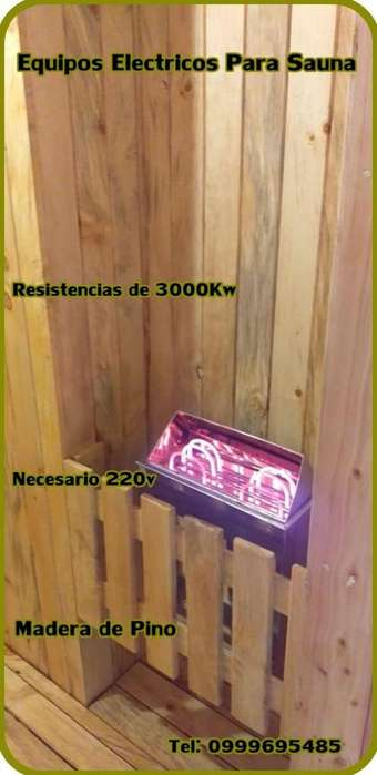 Equipos Electricos Para Sauna
