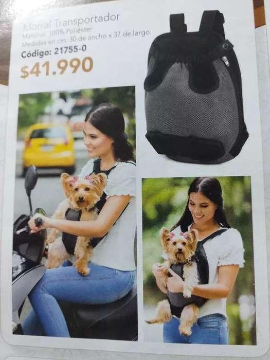 se vende cargador para perrito pqueño