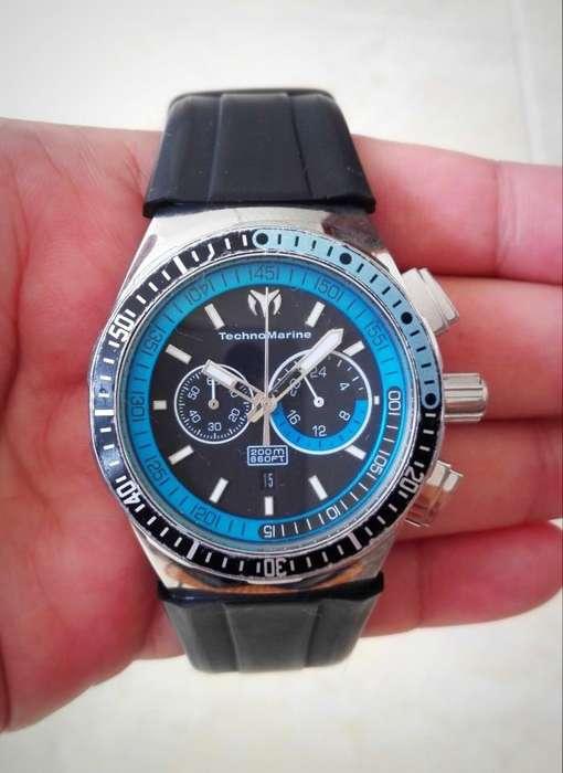 Reloj Technomarine Cruise Sport 110021, Original, Uso Normal, Estado 9/10