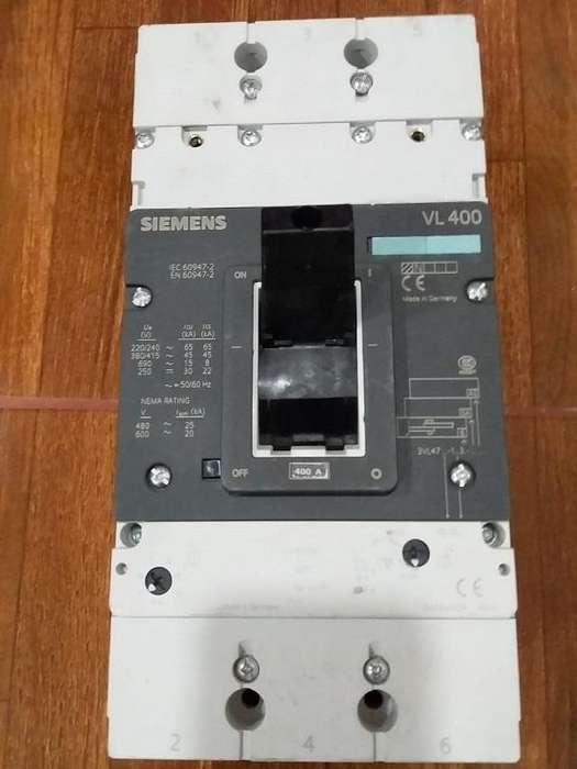 Breker <strong>siemens</strong> VL 400 Circuit Breaker NEW NFP 650