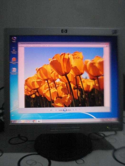 Monitor Lcd Hp 17 Pulgadas Modelo L1706 Exc.estado E Imagen