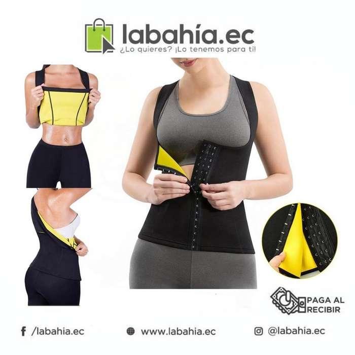 Faja reductora sauna corporal para reducir medidas y bajar de peso