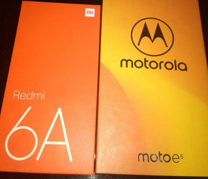 Redmi 6a Motorola E5