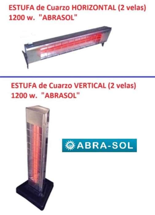 Estufa Electrica de Cuarzo