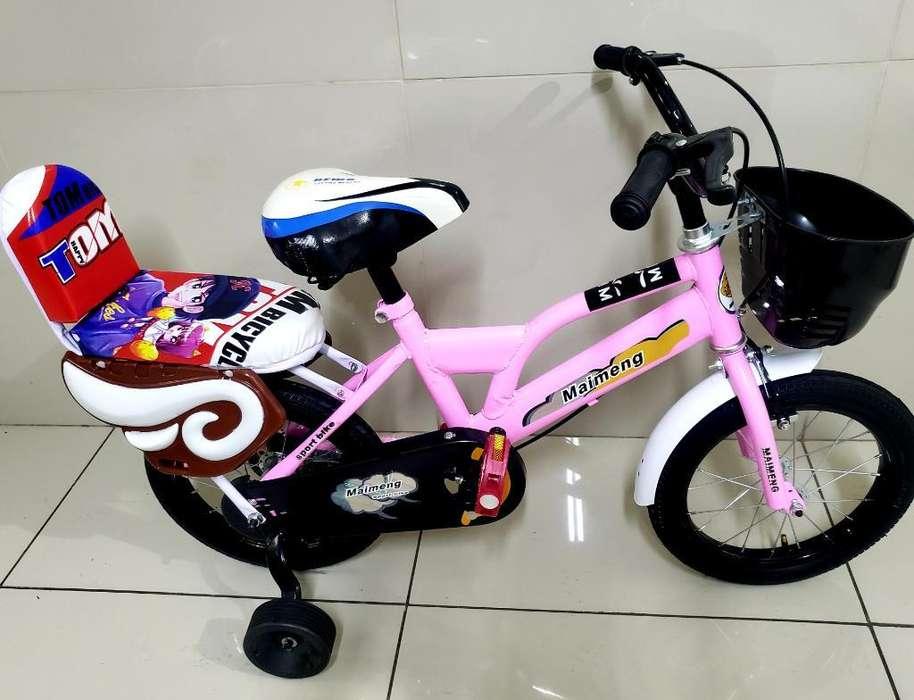 Bicicleta Aro 14 Niña 2 a 4 Años Nuevas