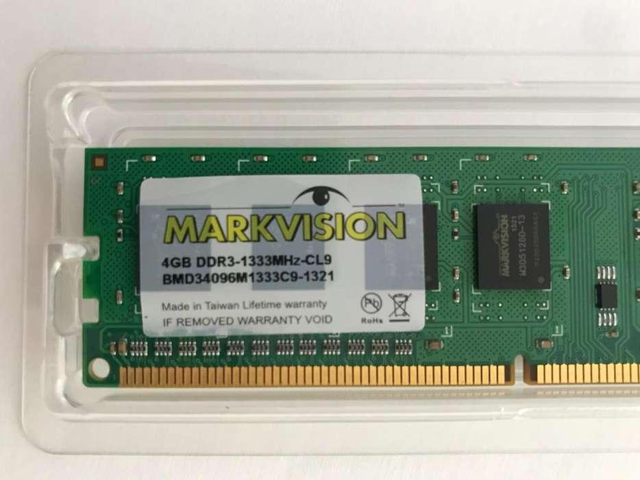Memoria RAM MARKVISION DDR3 4Gb 1333Mhz CL9