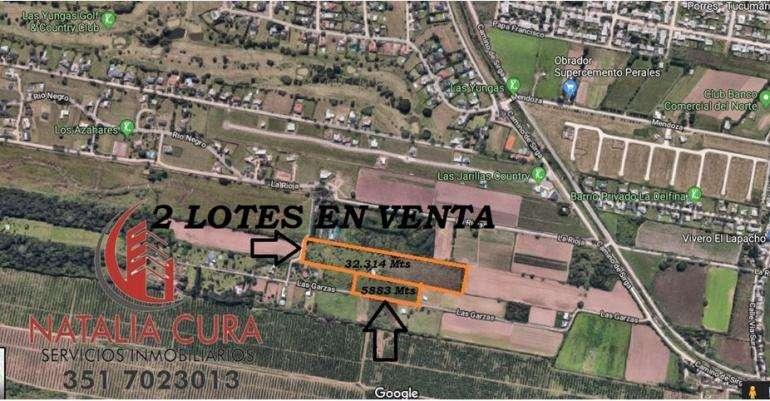 3.82 Ha EN VENTA- YERBA BUENA –ZONA COUNTRYS
