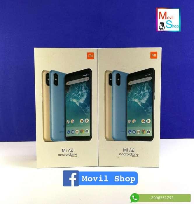 Xiaomi Mi A2 64gb 4gb Ram Doble Cam Android One Funda Orig