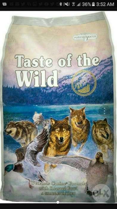 Taste Of The Wild Sabor a Pato X 28 Lb
