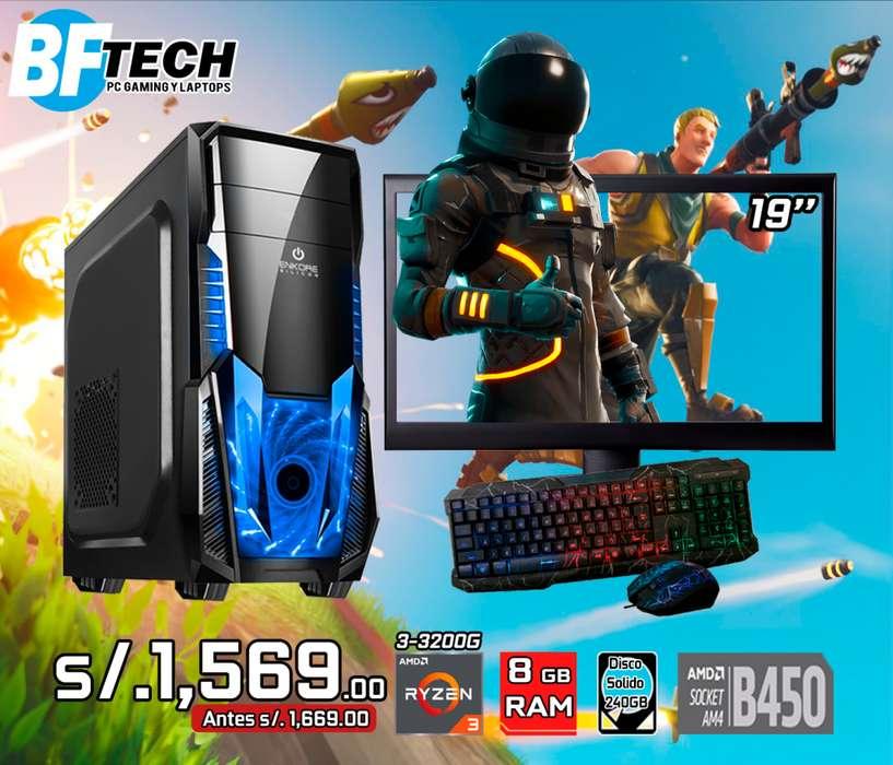 PC GAMING RYZEN 3 3200G 3.6GHz 7