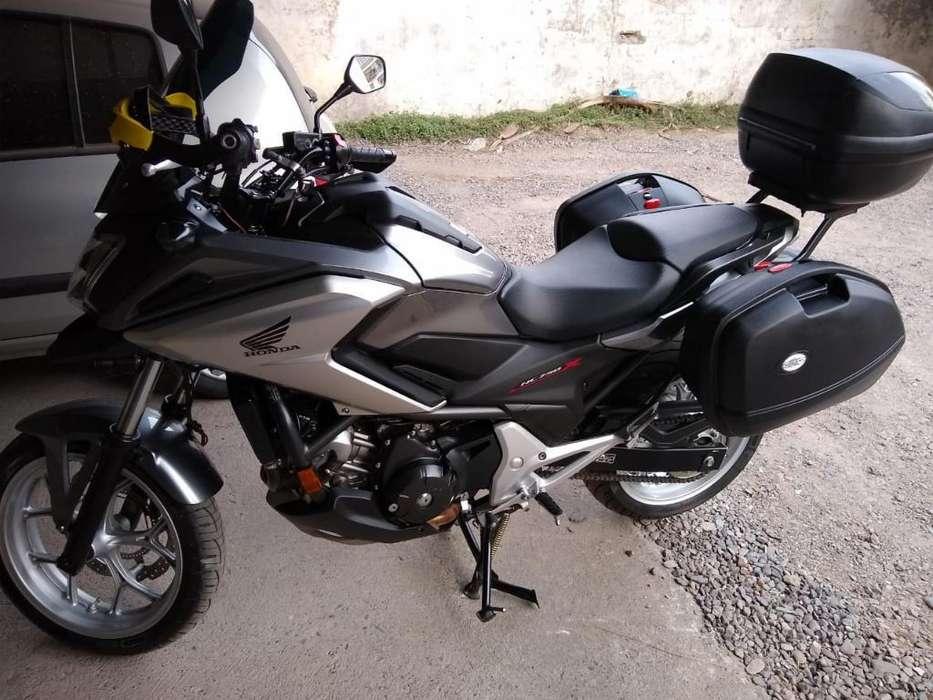 <strong>honda</strong> Nc 750 Equipada