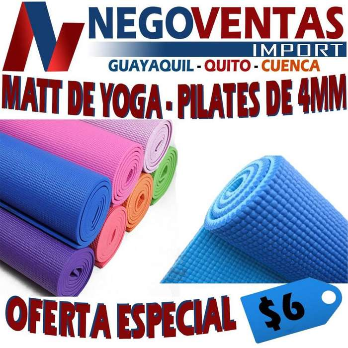 MATT DE YOGA - PILATES 4 MM DE OFERTA