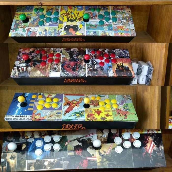 Consola Arcade con 10000 Juegos
