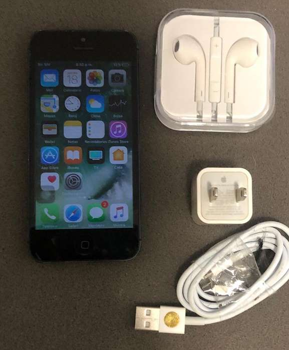 SE VENDE IPHONE 5 DE 32GB NEGRO