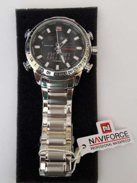 Reloj Elegante Naviforce Hombre