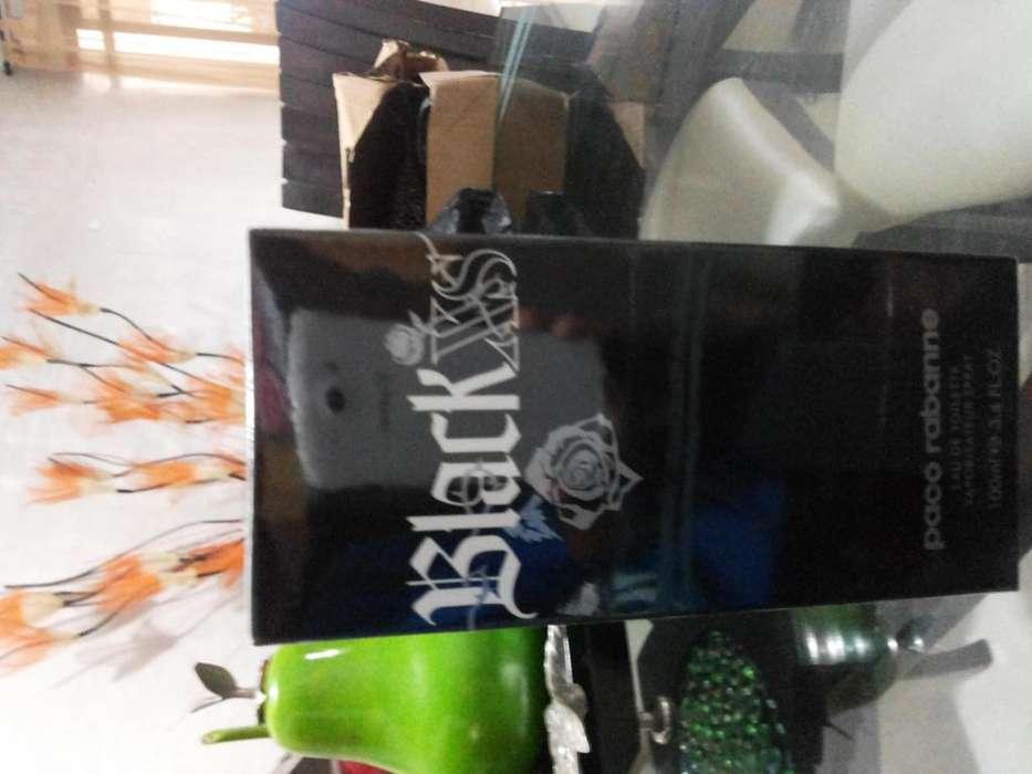 PERFUME BLACK XS HOMBRE ORIGINAL GARANTIZADO.