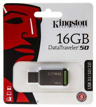 Memoria USB Kingston DT50 16gb
