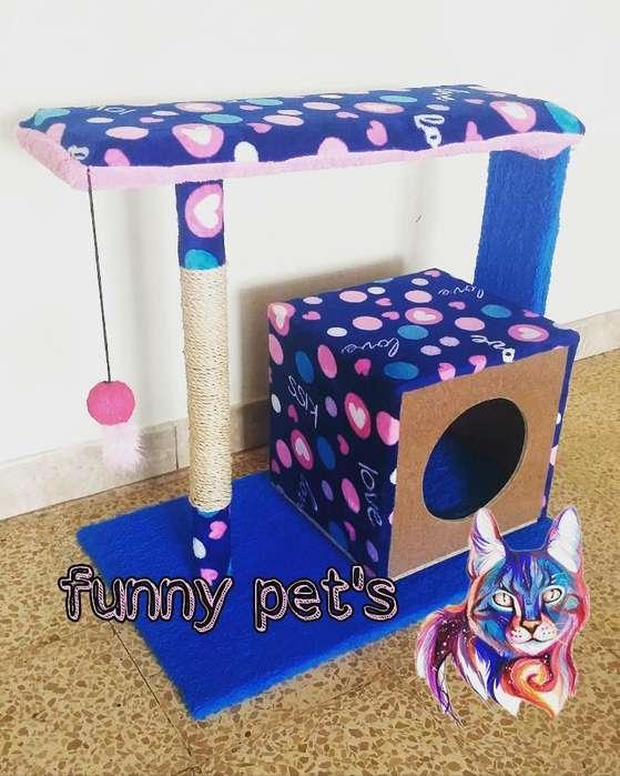 Casa Rascadora para Gato