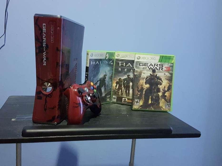 Vendo Flamante Xbox 360 Limited Edition